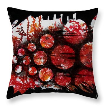 Untitled-75 Throw Pillow