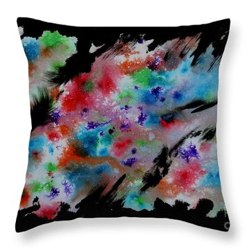 Untitled-76 Throw Pillow