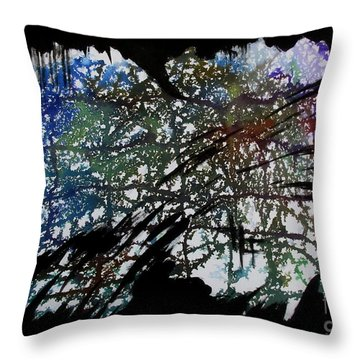 Untitled-77 Throw Pillow