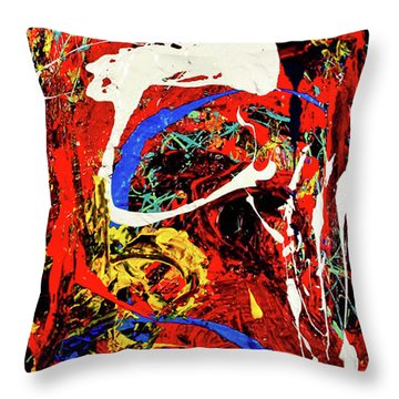Untitled 79 Throw Pillow