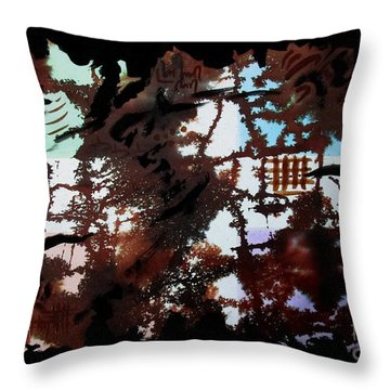 Untitled-83 Throw Pillow