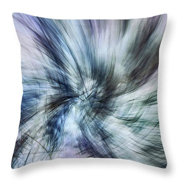 Untitled #8380, From The Soul Searching Series Throw Pillow