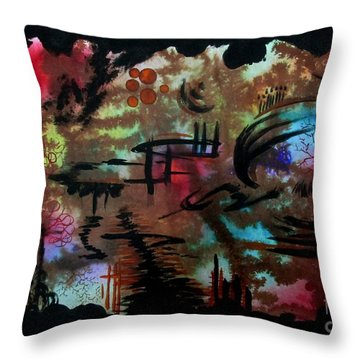 Untitled-84 Throw Pillow