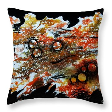 Untitled-85 Throw Pillow