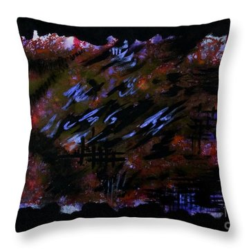 Untitled-86 Throw Pillow