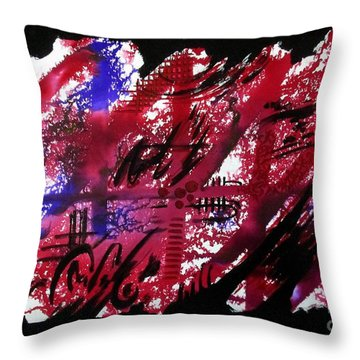 Untitled-92 Throw Pillow