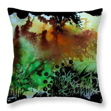 Untitled-95 Throw Pillow