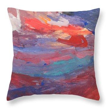 Untitled 96 Original Painting Throw Pillow