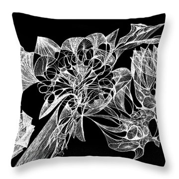 From The Ethers... Throw Pillow