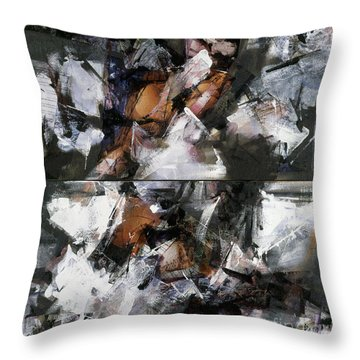Untitled IIi Throw Pillow