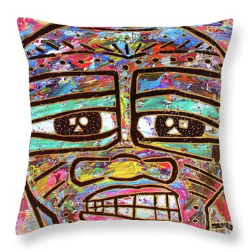 Untitled Iv Throw Pillow