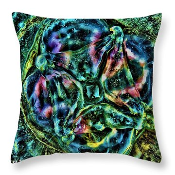 Untitled Life Throw Pillow