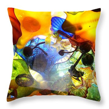 Untitled Throw Pillow by Melinda Dare Benfield