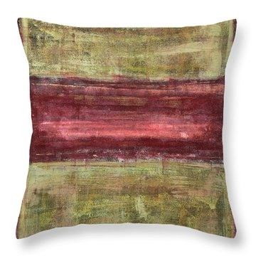 Untitled No. 21 Throw Pillow by Julie Niemela