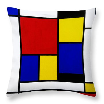 Untitled Throw Pillow by Oliver Johnston