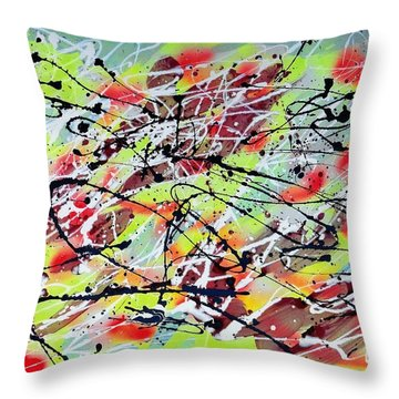 Untitled Throw Pillow by Patrick Morgan