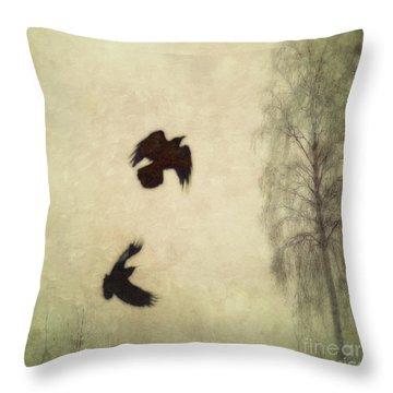 Untitled Throw Pillow by Priska Wettstein
