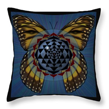 Transforming Meditation Throw Pillow