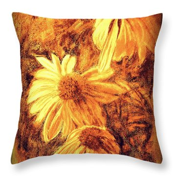 Throw Pillow featuring the digital art Untitled  by Antonia Citrino