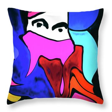 Untitled Work No. 1 Throw Pillow by James Bethanis