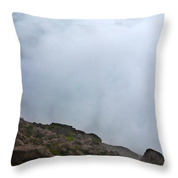 Throw Pillow featuring the photograph The Wall Of Water by Dana DiPasquale