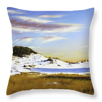 Unwalked Throw Pillow by Rick McKinney