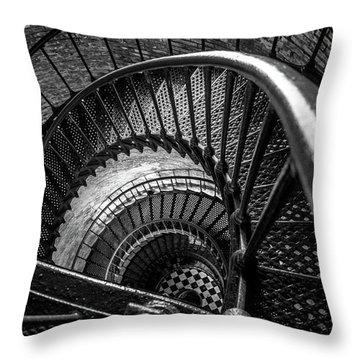 Unwind  - Currituck Lighthouse Throw Pillow