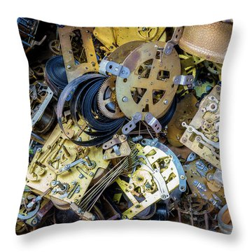 Throw Pillow featuring the photograph Unwinding by Christopher Holmes