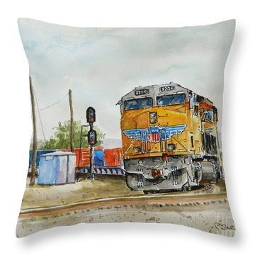 U.p. 8226 Throw Pillow