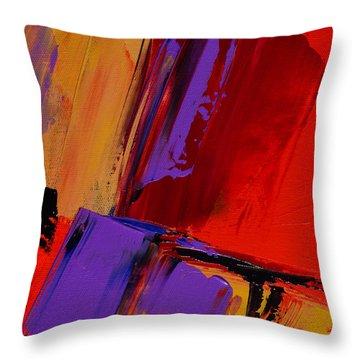 Up And Down - Art By Elise Palmigiani Throw Pillow by Elise Palmigiani