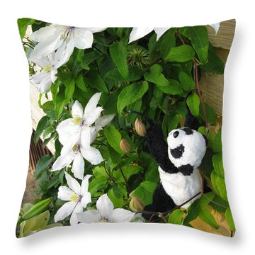Throw Pillow featuring the photograph Up And Up And Up by Ausra Huntington nee Paulauskaite