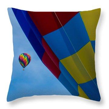 Up And Away 1 12x12 Throw Pillow