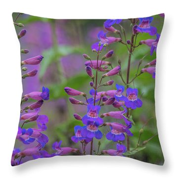 Up Close And Personal With Beauty Throw Pillow