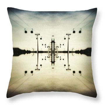 Up In The Sky Throw Pillow by Jorge Ferreira