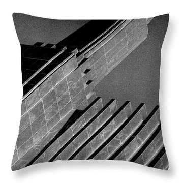 Up On High Throw Pillow
