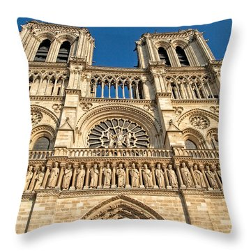 Throw Pillow featuring the photograph Up The Towers by Kim Wilson