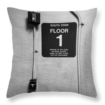 Up To One Throw Pillow