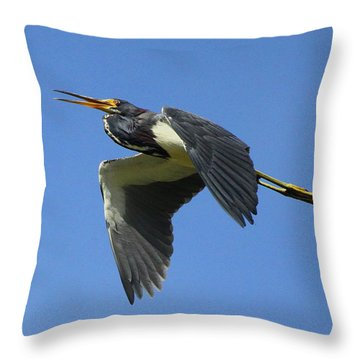 Up Up And Away Throw Pillow