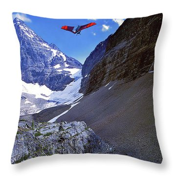 Up, Up, And Away Throw Pillow