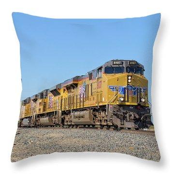 Up8107 Throw Pillow