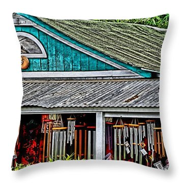 Upcountry Chimes Throw Pillow