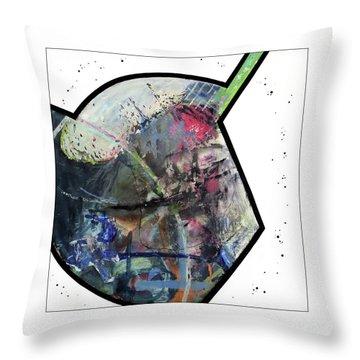 Upgrade Your Imagination  Throw Pillow by Antonio Ortiz