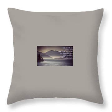 Uplifting244 Throw Pillow