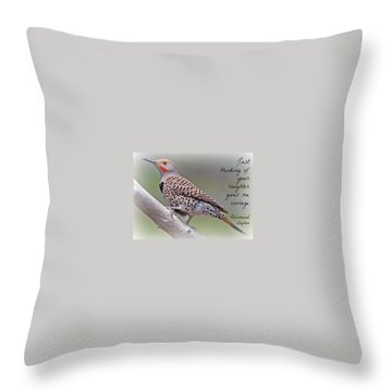 Uplifting245 Throw Pillow