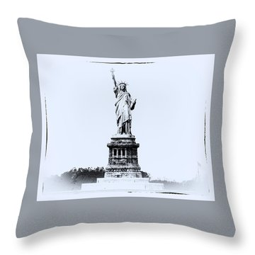 Upon Arrival #2 Throw Pillow by William Feig