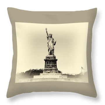Upon Arrival Throw Pillow by William Feig
