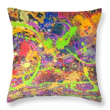 Upon Awakening Throw Pillow by Robert Anderson