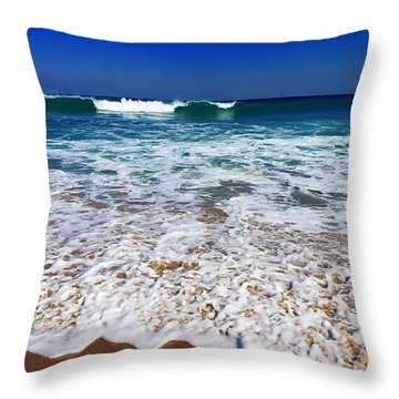 Throw Pillow featuring the photograph Upon Entry by Cindy Greenstein
