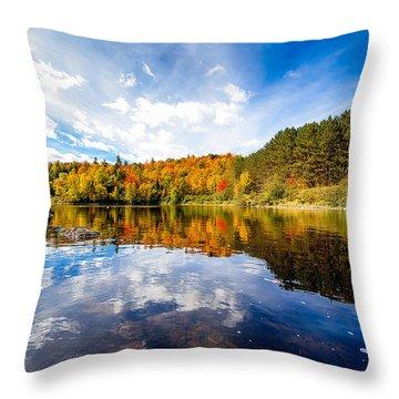 Upper Ammonoosuc River Throw Pillow