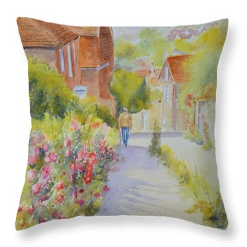 Upper Church Hill 2015 Hythe Throw Pillow